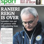 Racing Post Ranieri