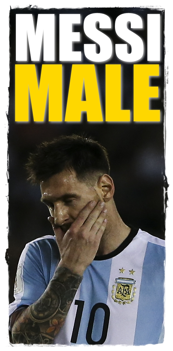 Argentina Soccer FIFA Messi Charged
