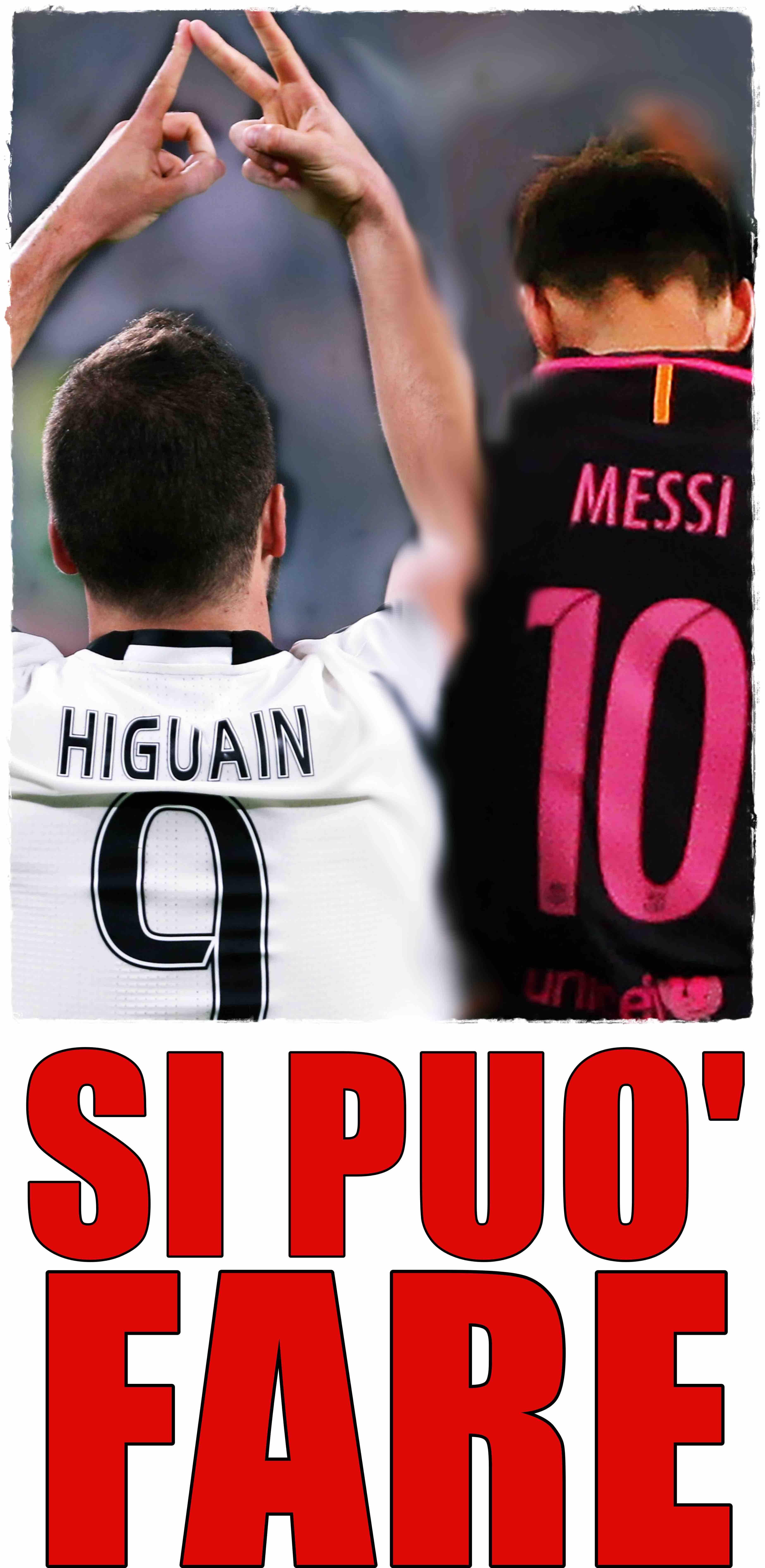 Higuain Messi 2
