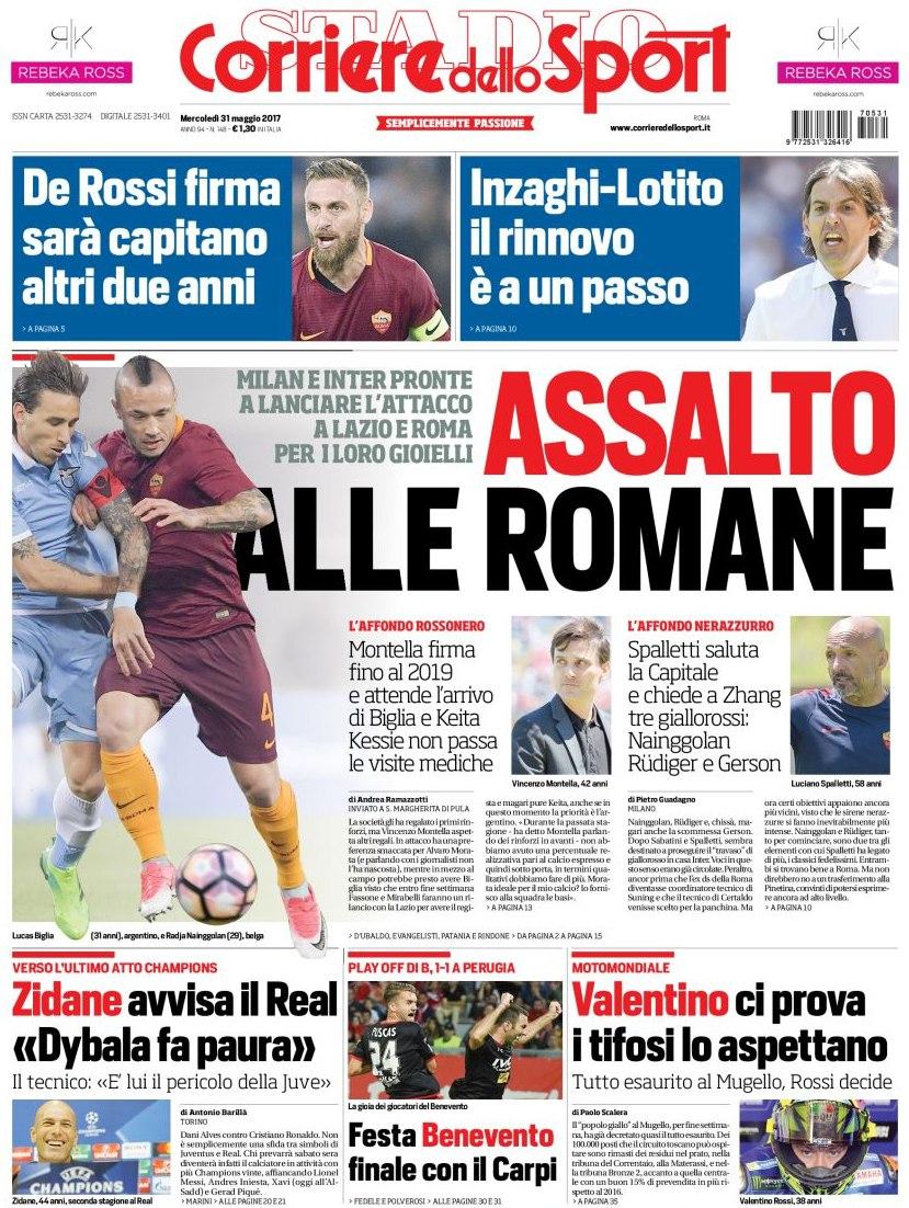 Corriere Sport assalto