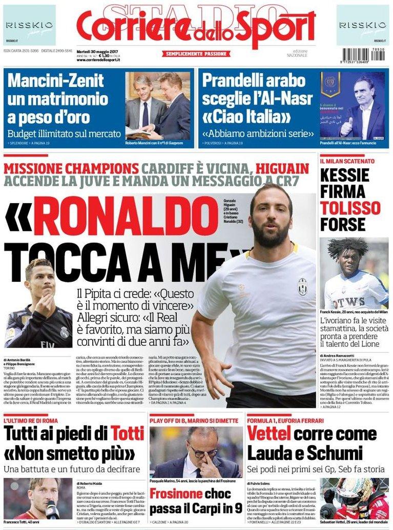Corriere dello Sport Higuain
