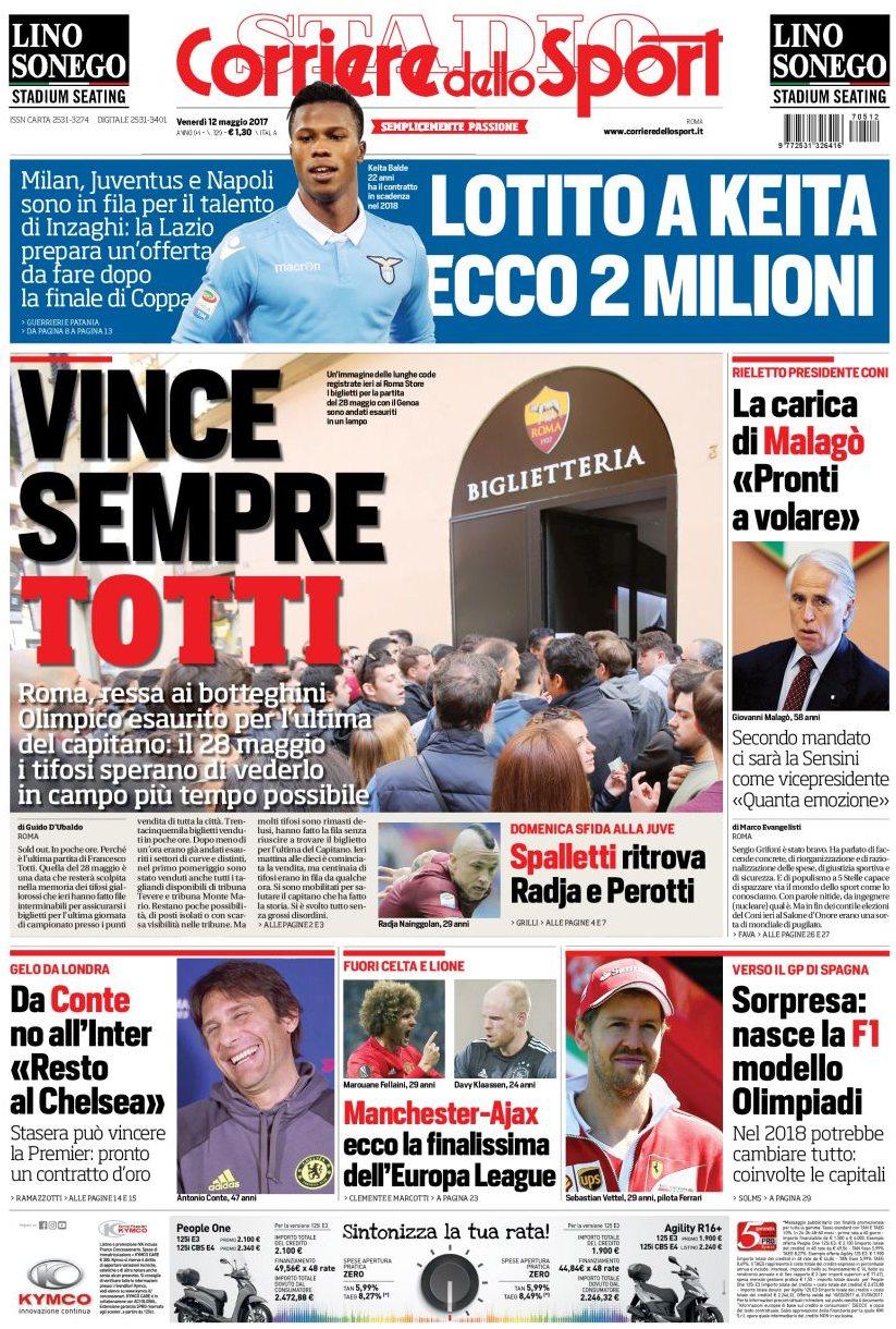 Corriere dello Sport Totti