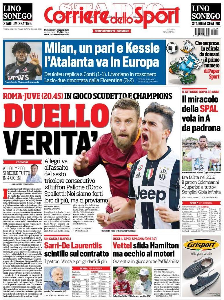Corriere dello Sport duello verità