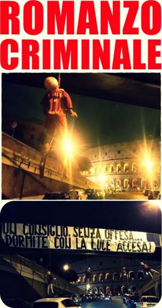 Striscione Roma 5