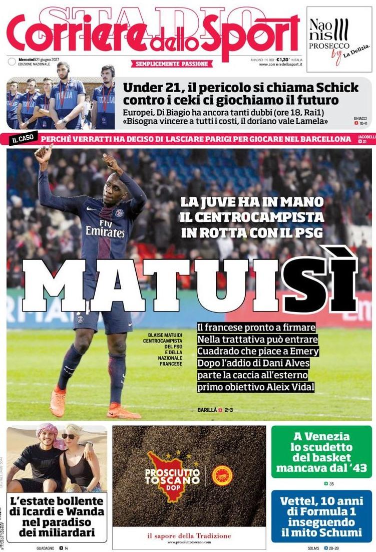 Corriere Sport Matuidi