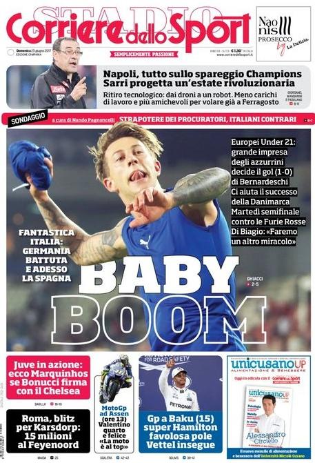 Corriere dello Sport Baby Boom