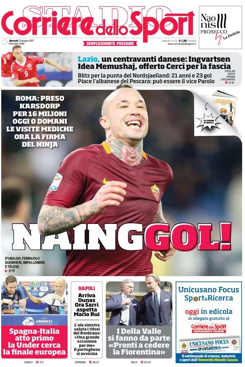 Corriere dello Sport Nainggol