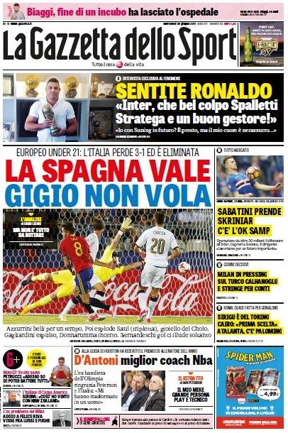 Gazzetta Ronaldo Fenomeno