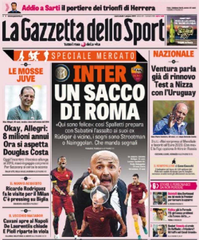 Gazzetta Spalletti Roma