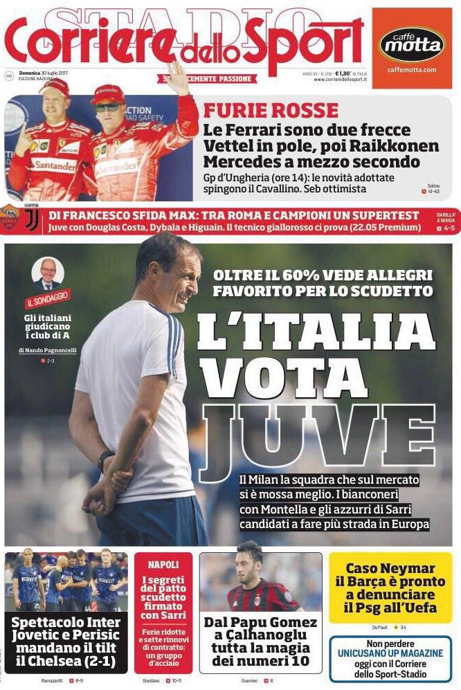 Corriere Sport Allegri