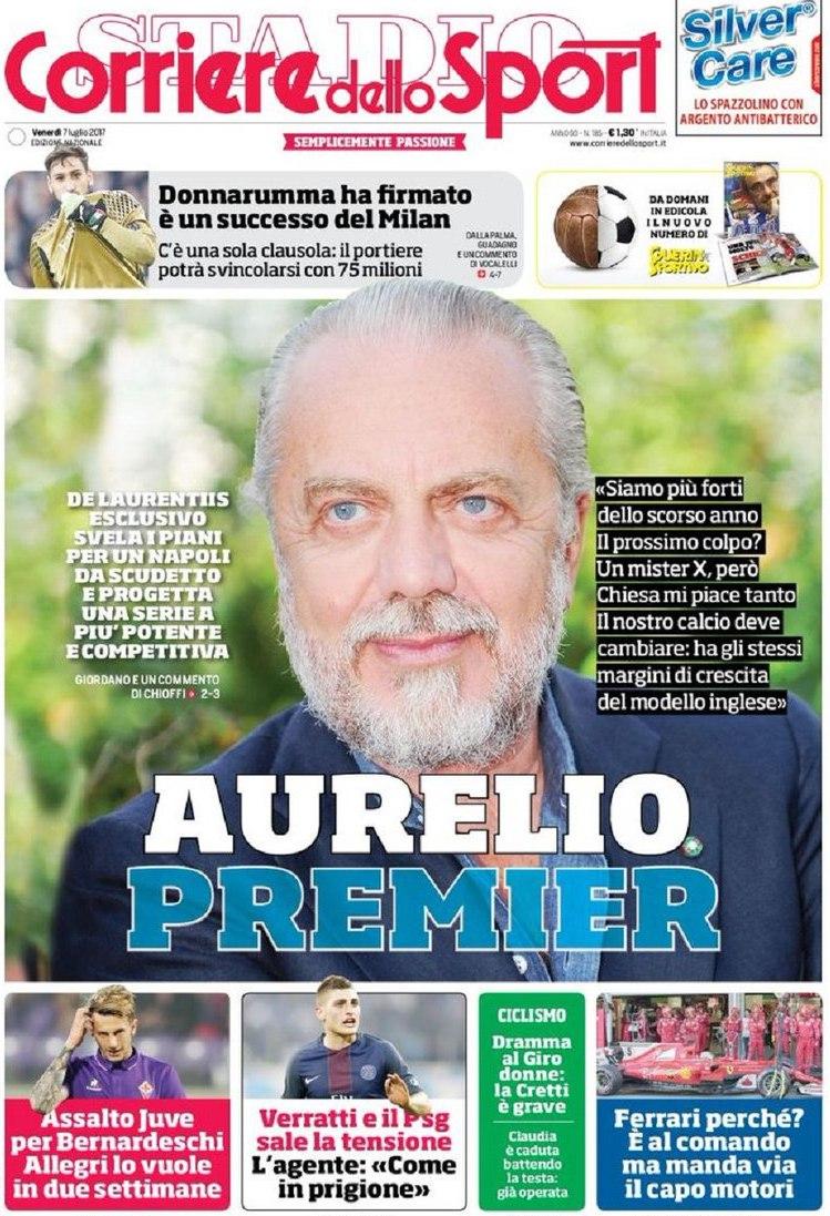 Corriere Sport Aurelio