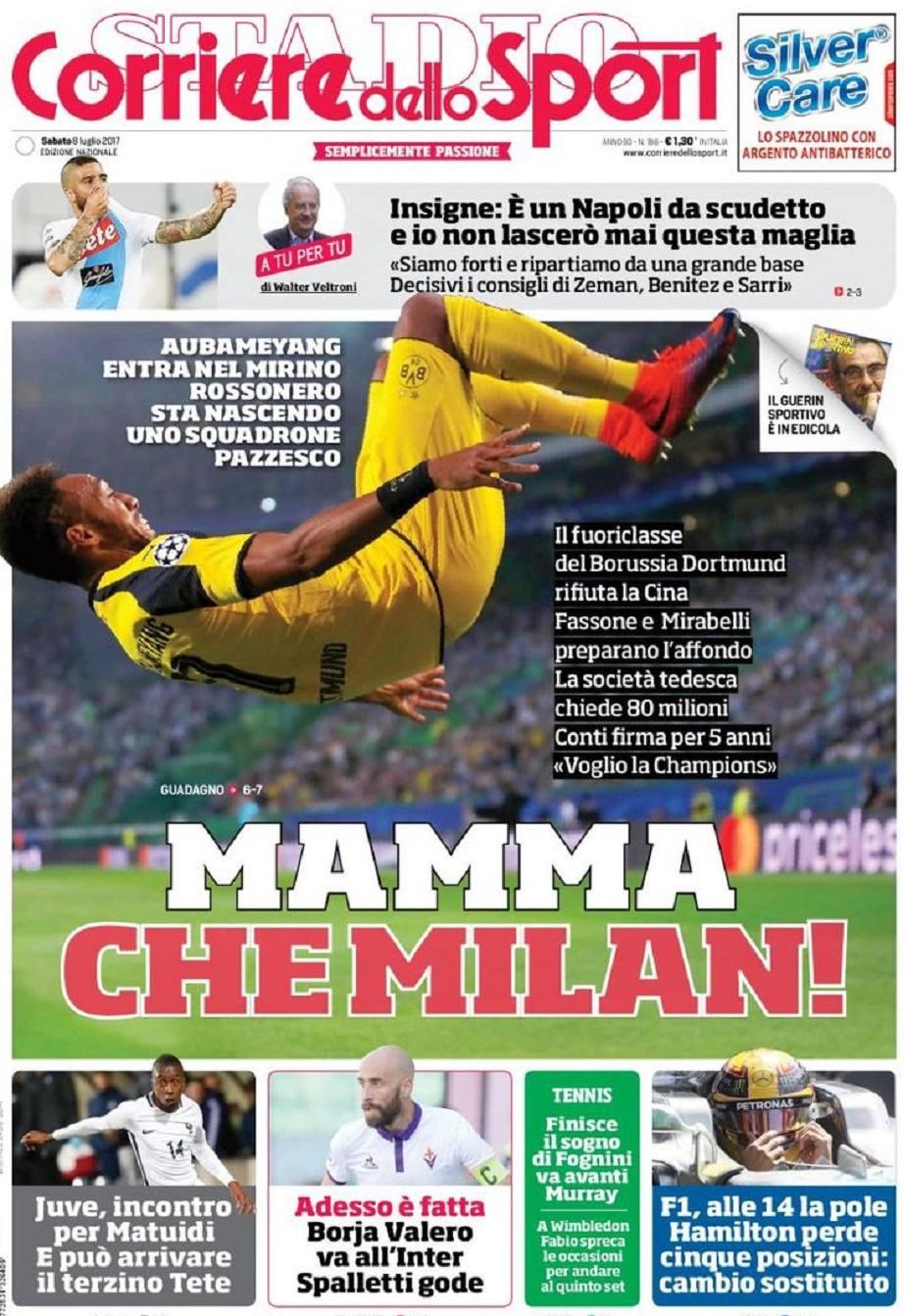 Corriere Sport Che Milan