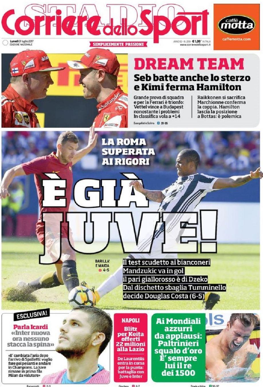 Corriere Sport Già Juve