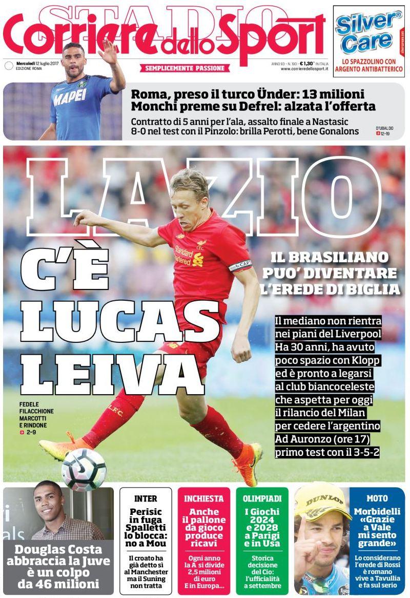 Corriere Sport Lucas Leiva