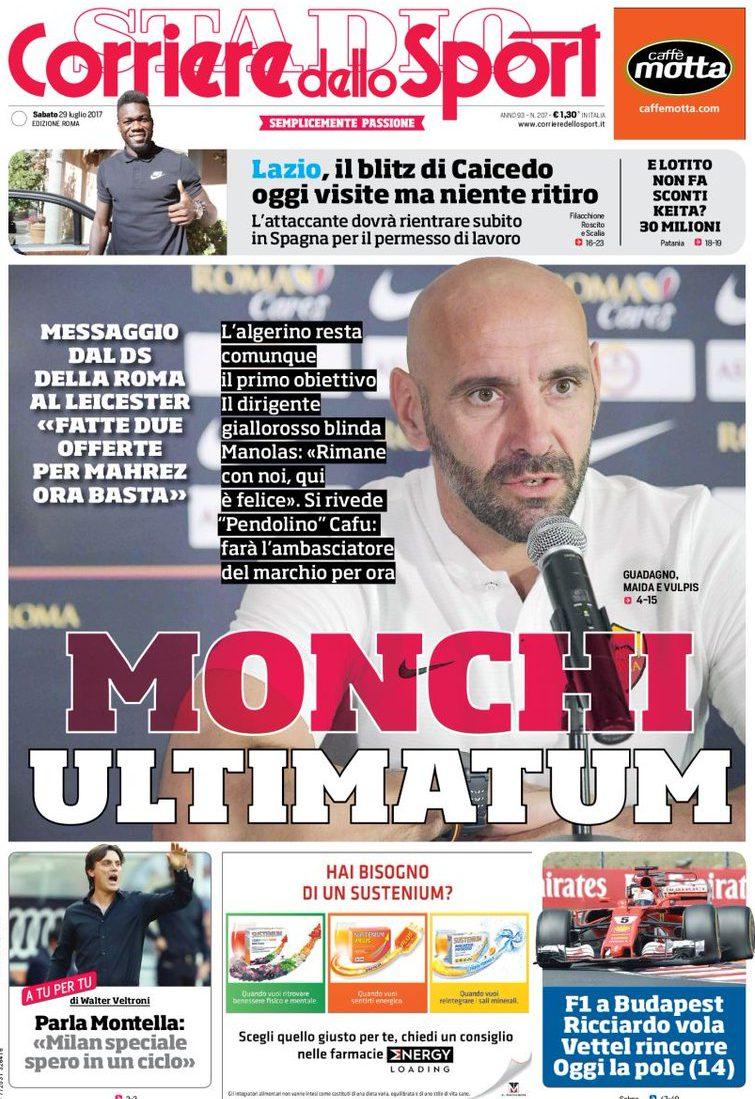 Corriere Sport Monchi