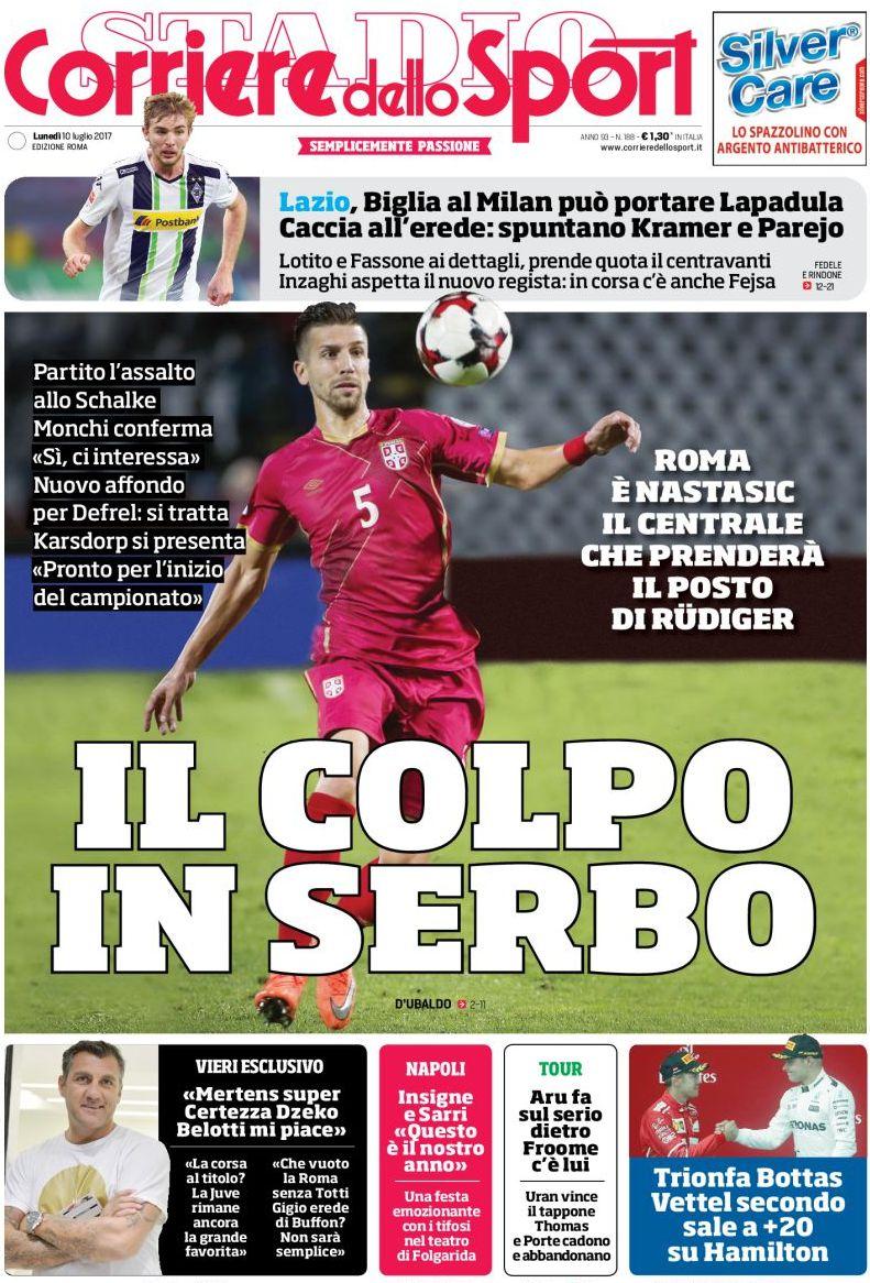 Corriere Sport Nastasic