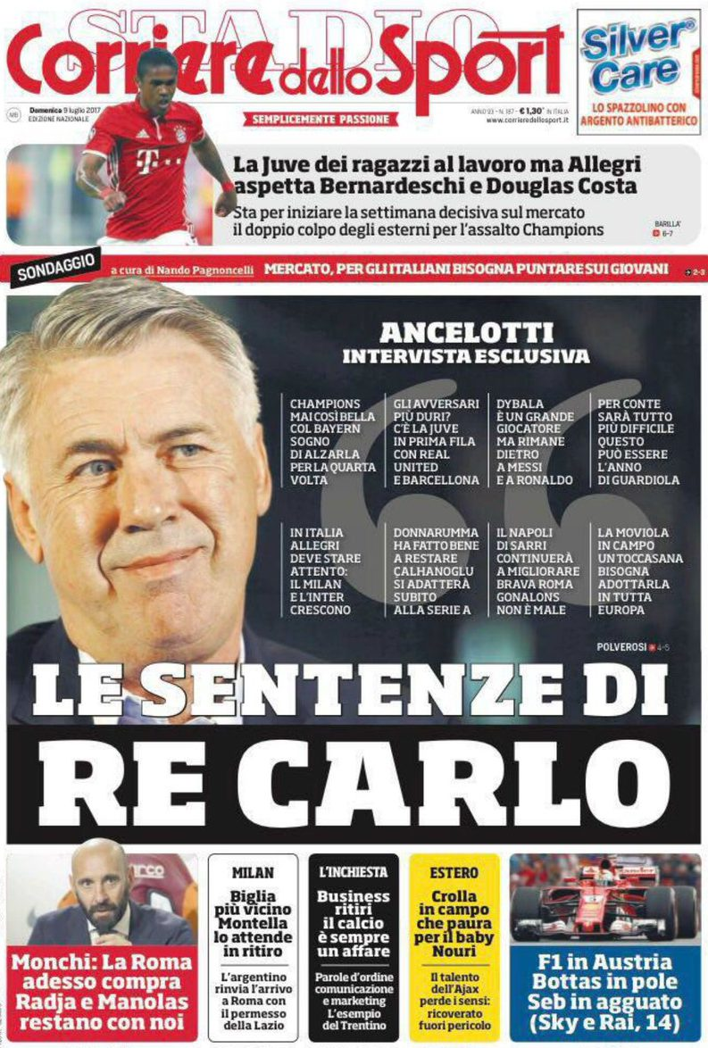 Corriere Sport Re CaRLO