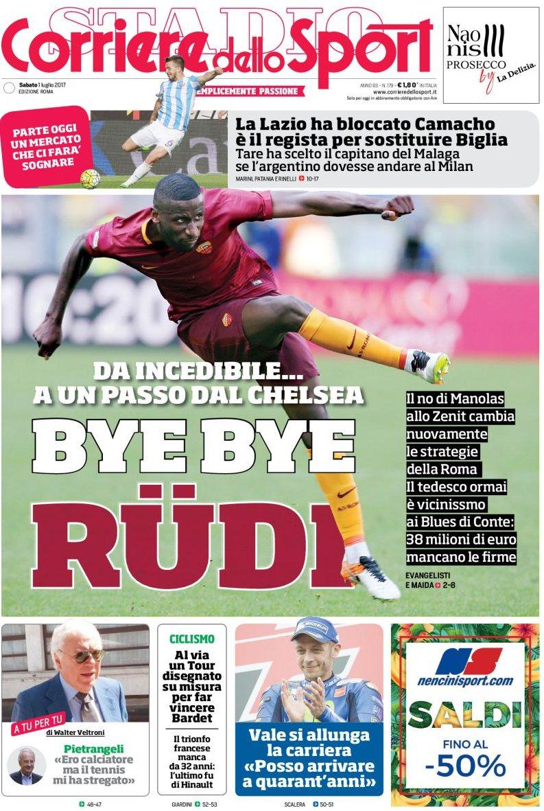 Corriere Sport Rudiger