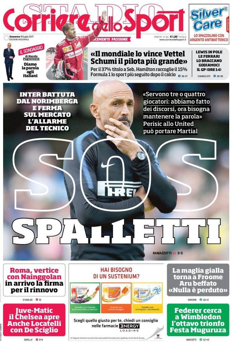 Corriere Sport Sos Spalletti