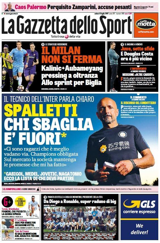 Gazzetta Sport Spalletti