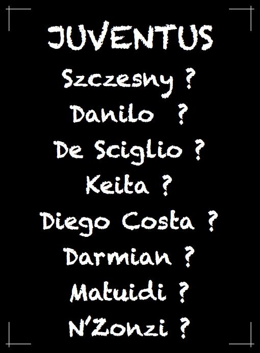 Lavagna Juventus