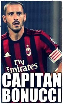 Bonucci capitano