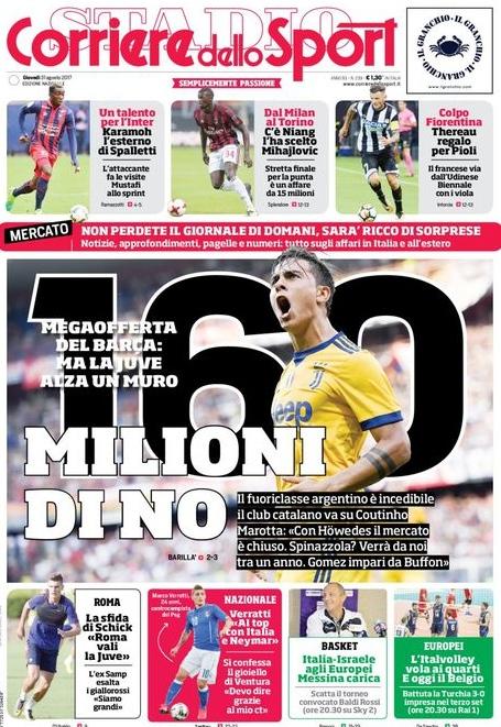 Corriere Sport milioni no