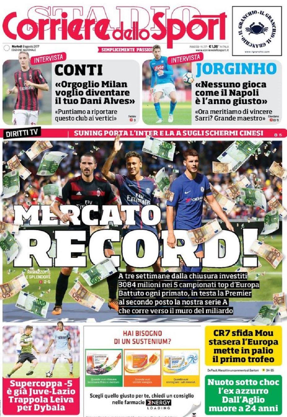 Corriere record