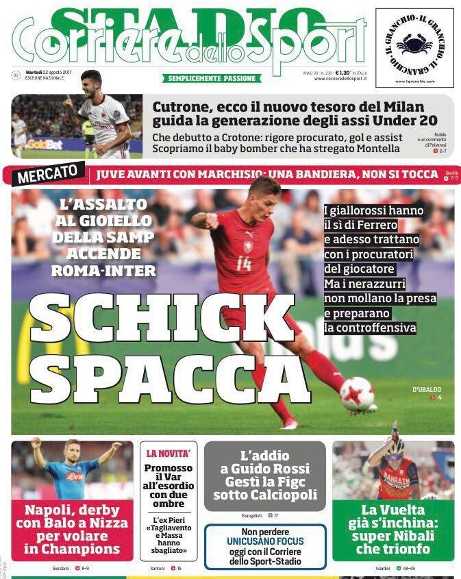 Corriere sport Schick