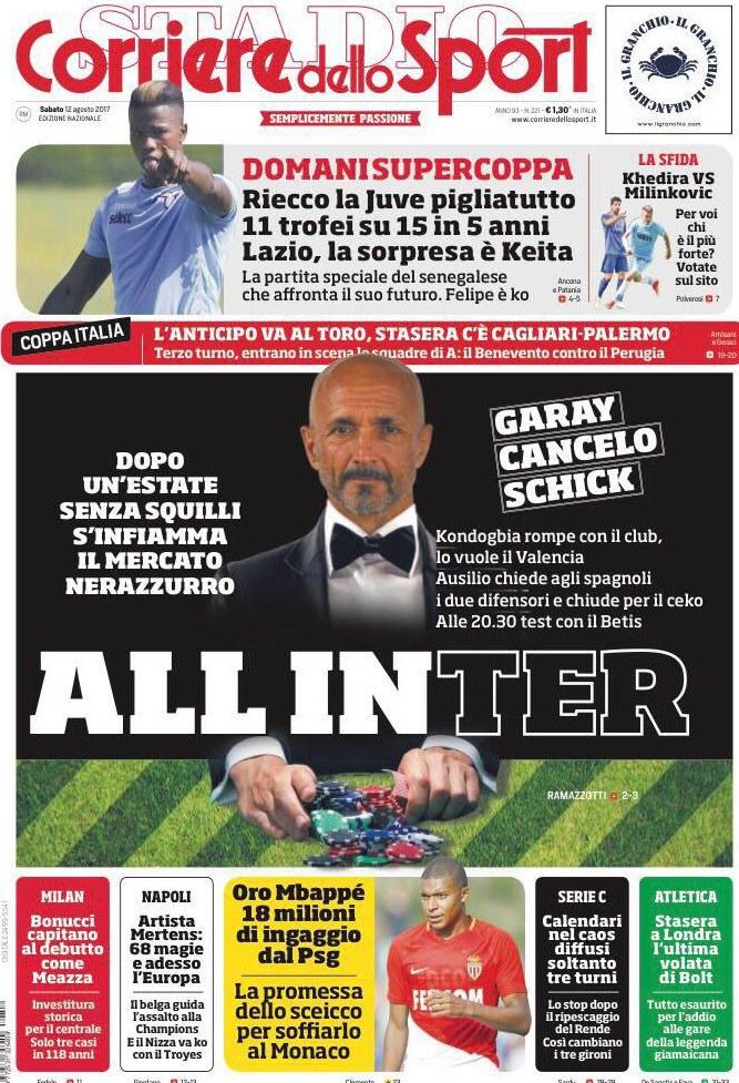 Corriere sport Spalletti