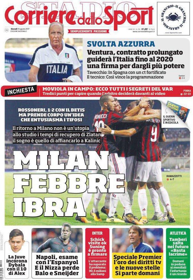 Corriere sport Ventura