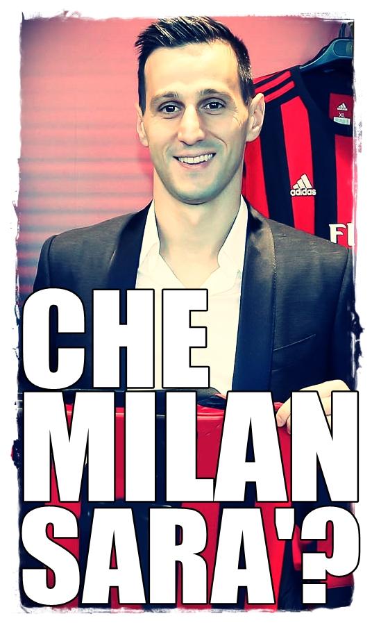AC Milan - presentazione di Nikola Kalinic a Casa Milan