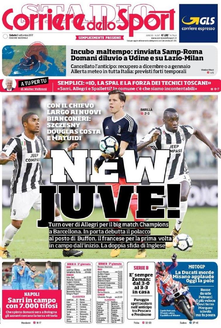 Corriere New Juve