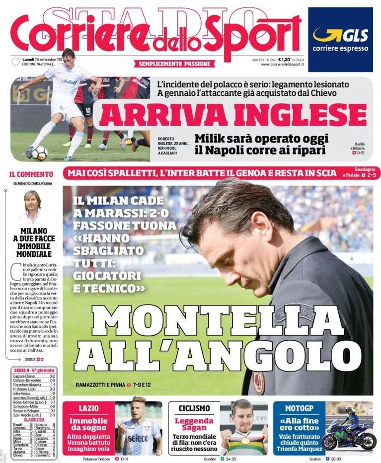 Corriere Sport Montella