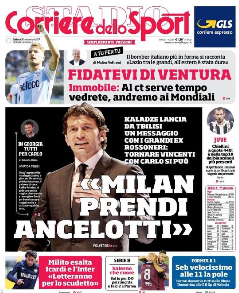 Corriere sport Kaladze