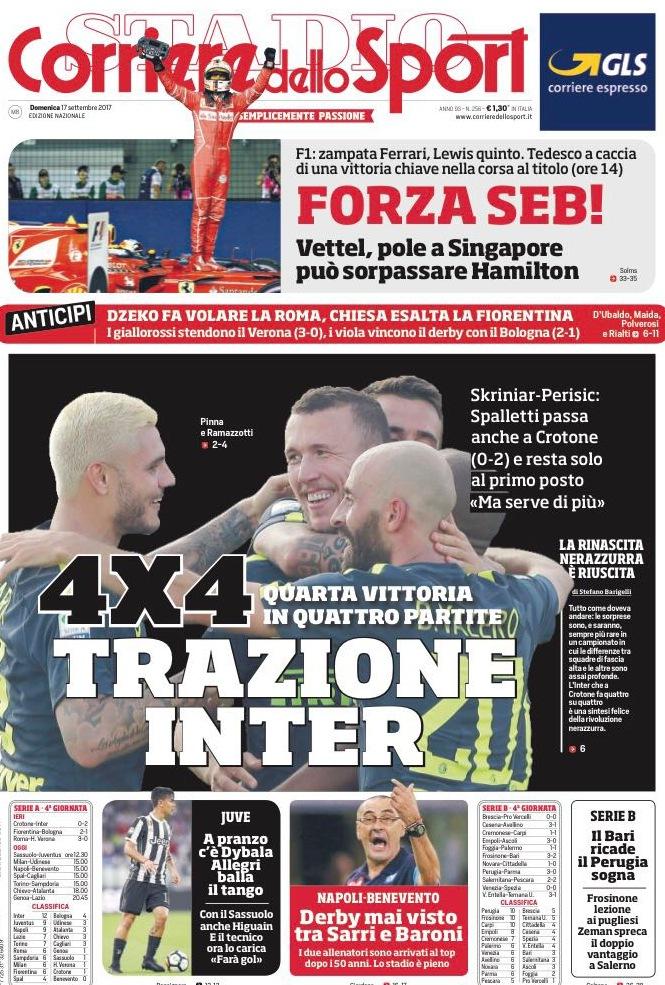 Corriere sport trazione inter