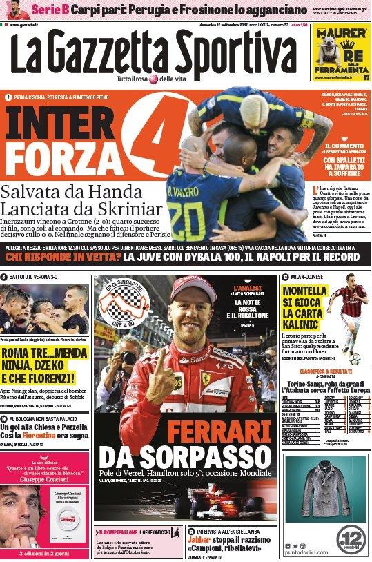 Gazzetta Forza 4
