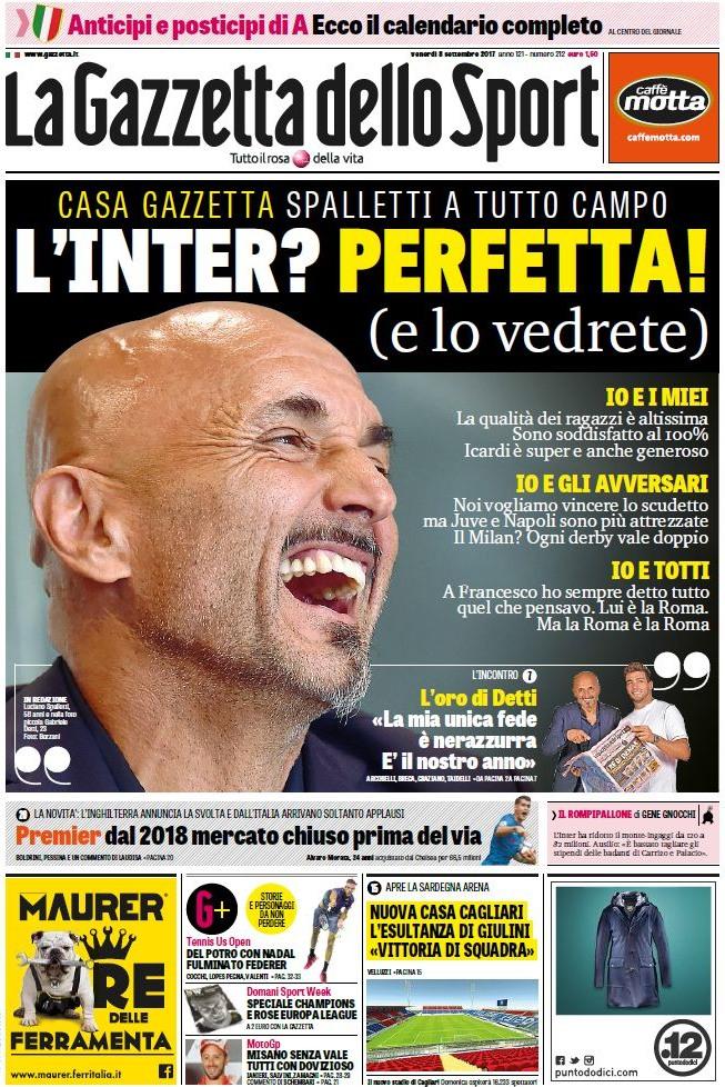 Gazzetta Inter perfetta