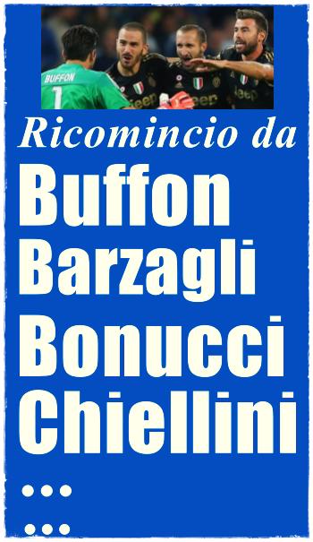 Bloooog! Buffon Barzagli Bonucci Chiellini