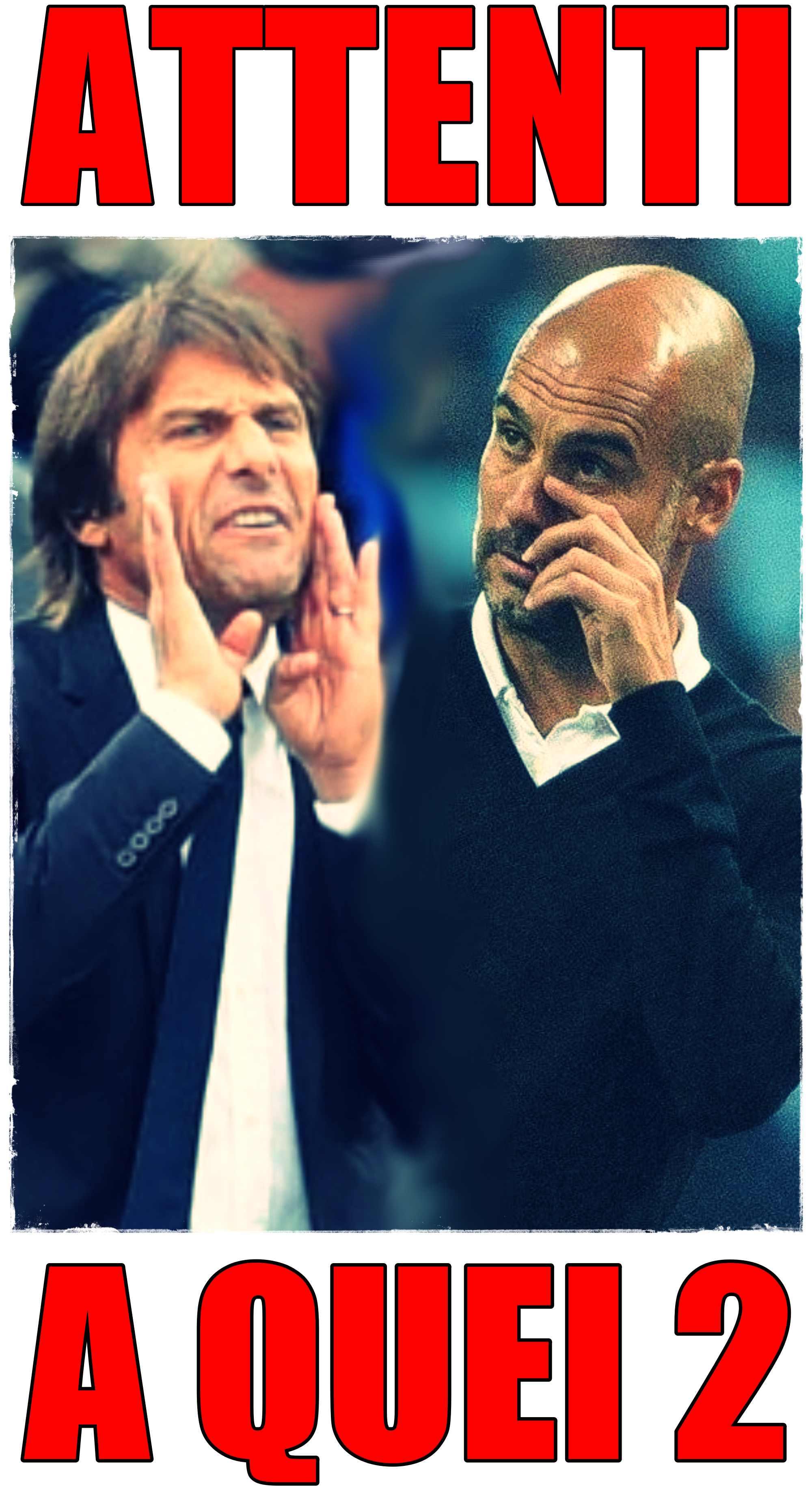 Conte Guardiola collage