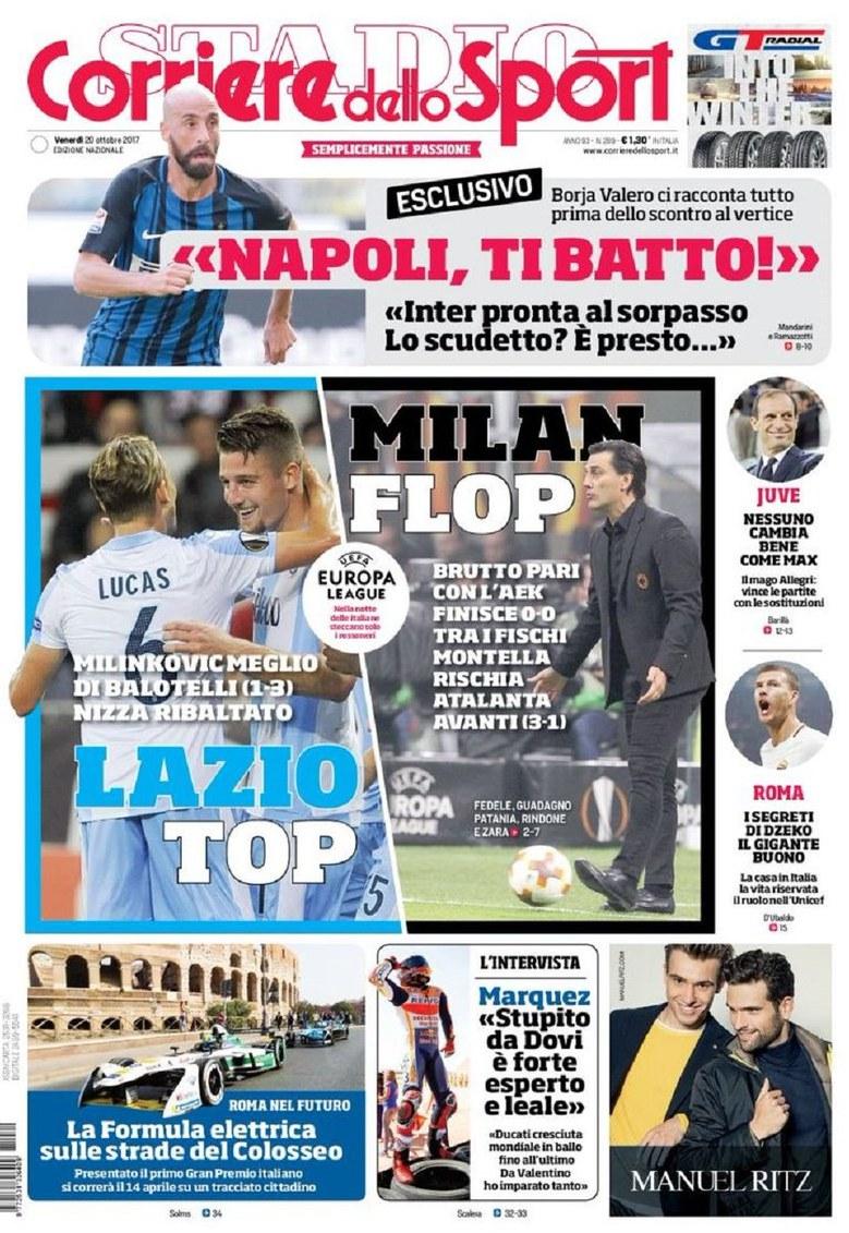 Corriere Sport Lazio Top
