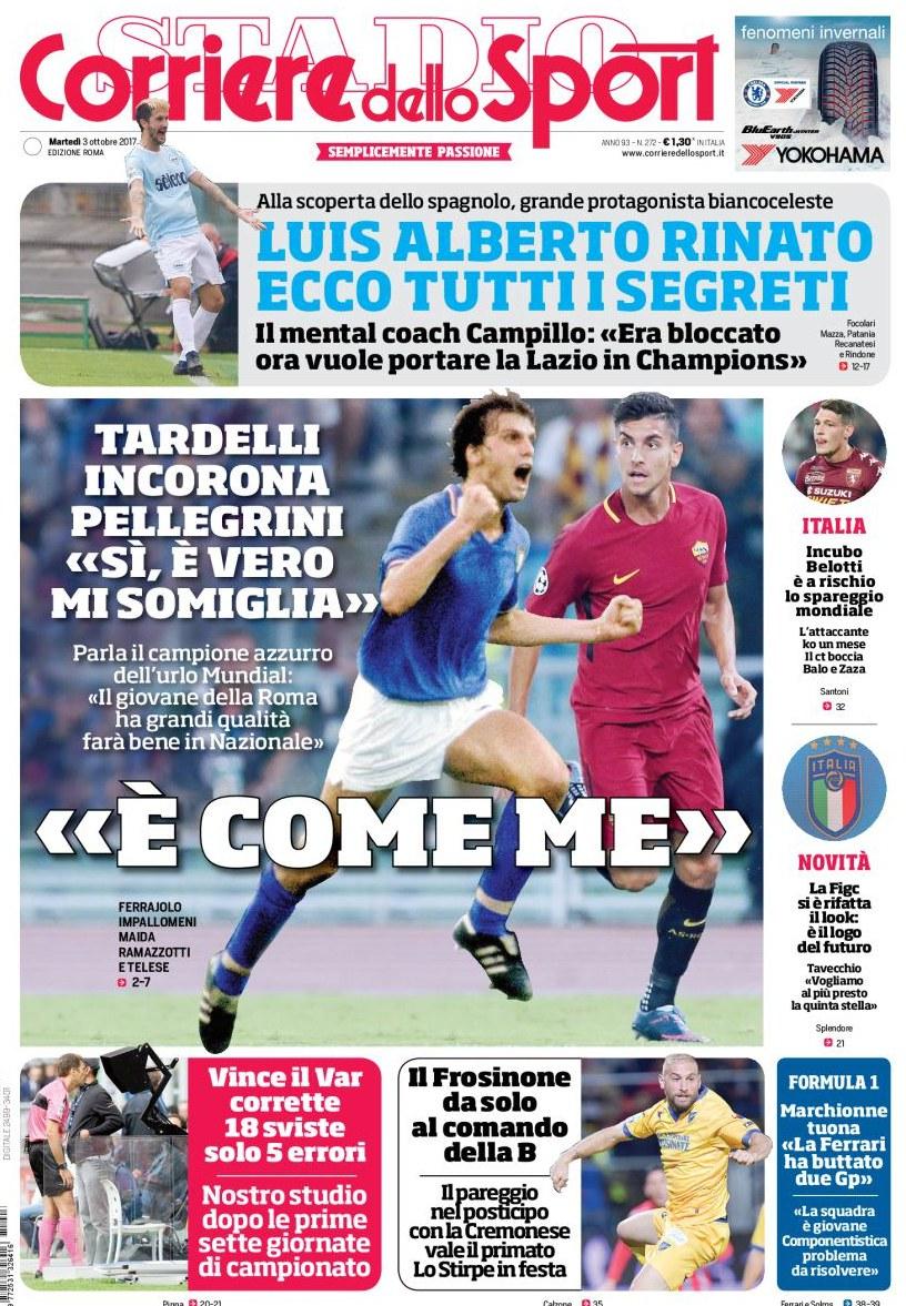 Corriere Sport Tardelli