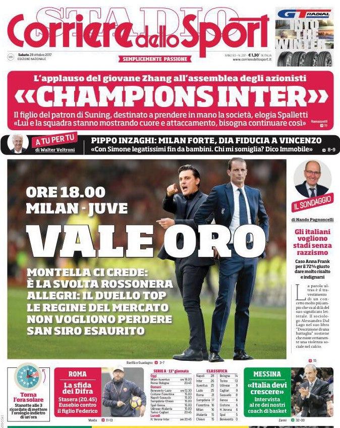 Corriere dello Sport Vale Oro
