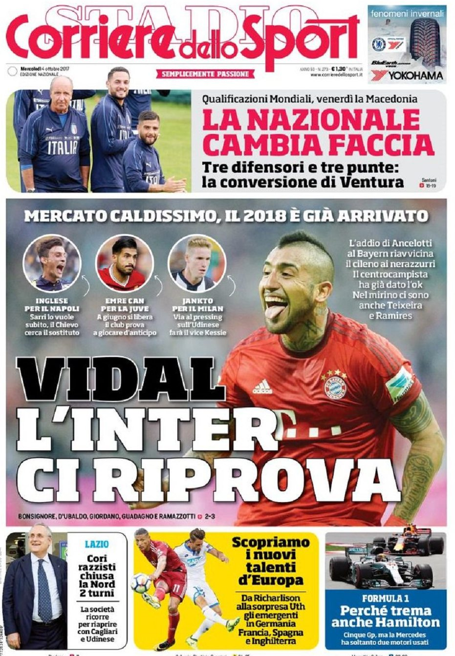 Corriere sport Vidal
