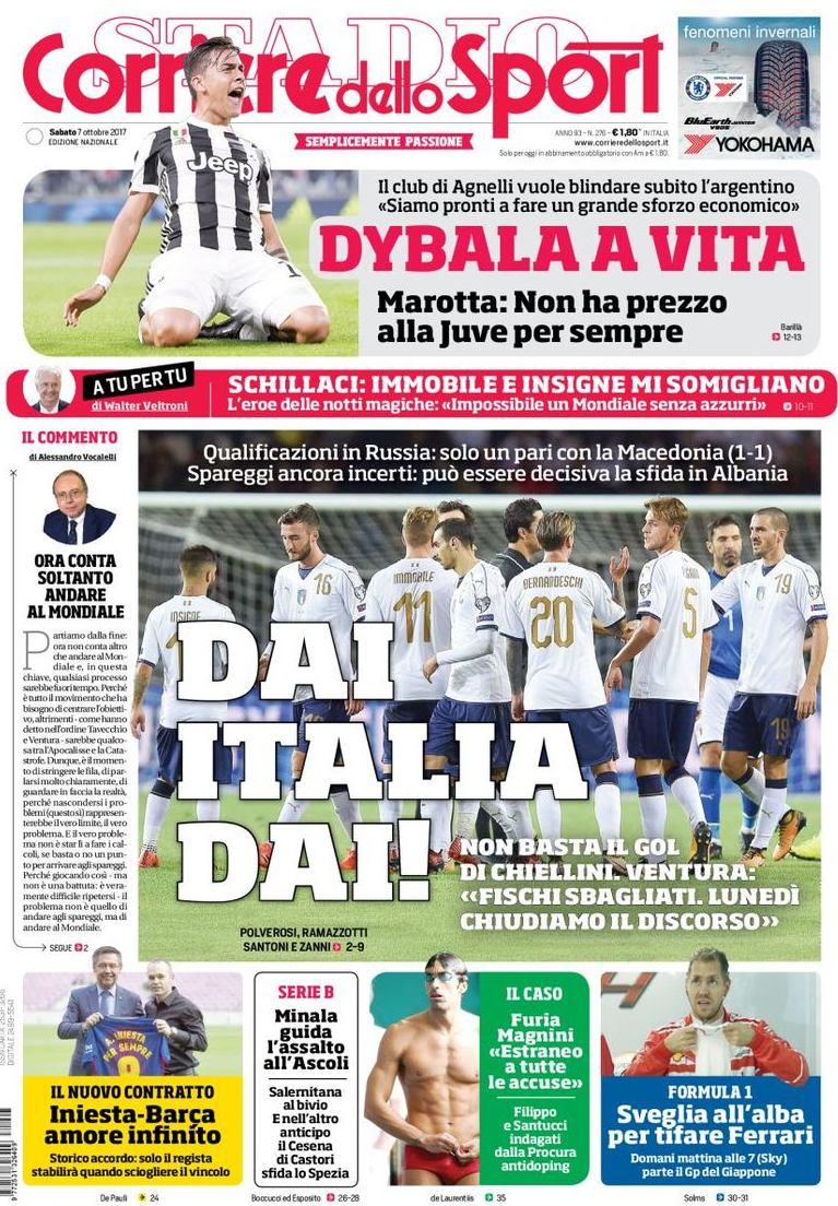 Corriere sport dai Italia