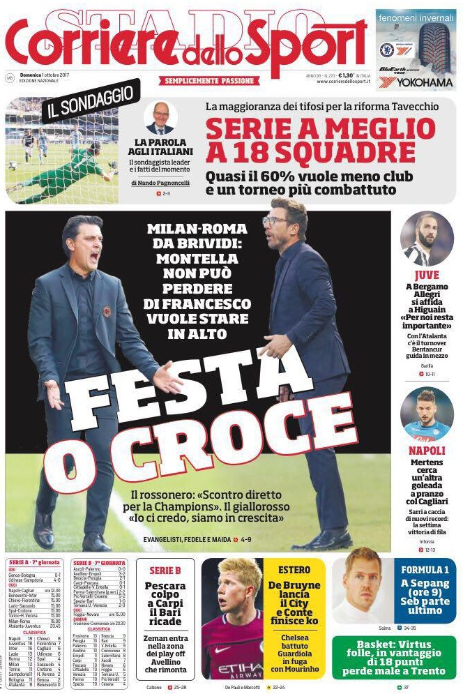 Corriere sport festa croce