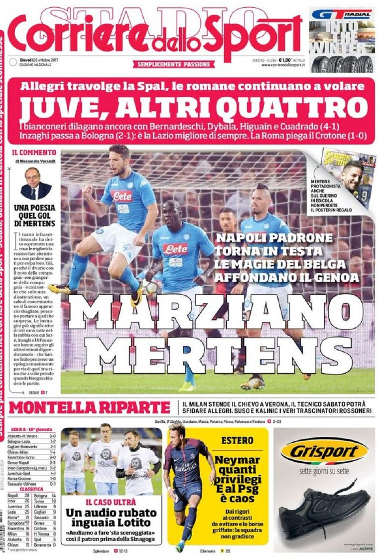 Corriere sport marziano