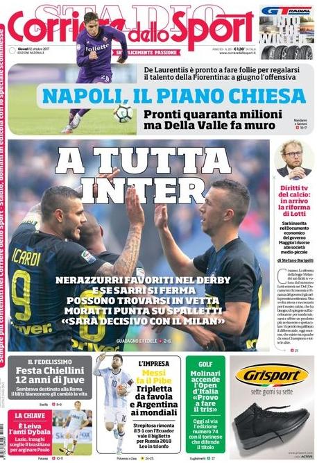 Corriere tutta Inter