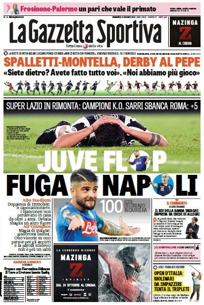 Gazzetta Juve flop
