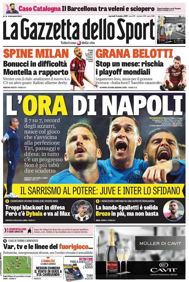 Gazzetta Ora Napoli